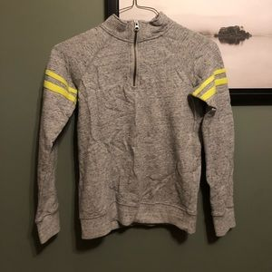 Joe Fresh Half Zip Grey Sweater